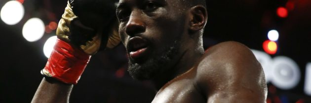 "Terence Crawford confronts Jose Benavidez Jr., invites him to ""step outside"""