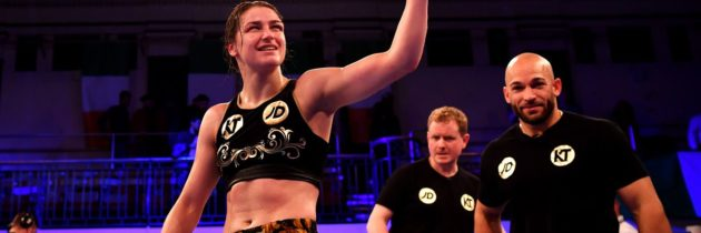 Taylor-Bustos unification bout on April 28