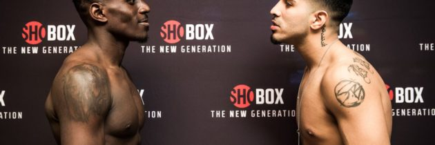 ShoBox results: Ronald Ellis and Junior Younan fight to a draw