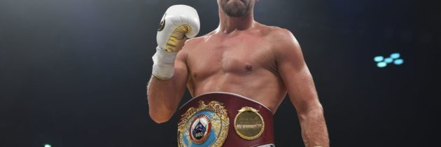 Saunders vacates WBO title, faces six-month suspension