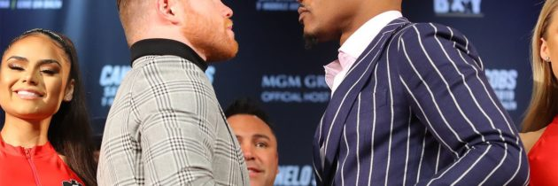Canelo, Jacobs kick off press tour in NYC
