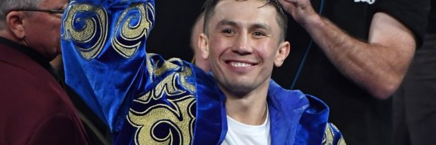 GGG officially announces DAZN deal, sets his sights on big fights
