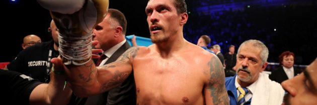 Usyk-Takam reportedly agreed to for May 18