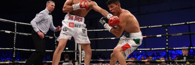 Gill smashes Dominguez in three