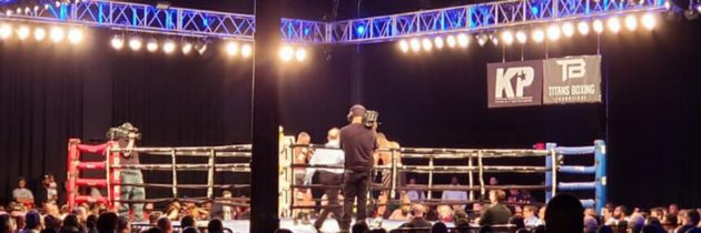 FightNight Live: Boxer 'disgusted' by his performance in defeat