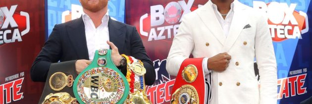 Canelo-Jacobs: Mexico City press conference quotes