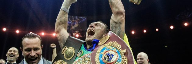 Usyk officially vacates WBA cruiserweight belt