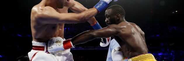 Highlights! Crawford Ends Khan With Accidental Low Blow