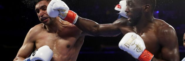 Highlights from Crawford-Khan, including the low blow
