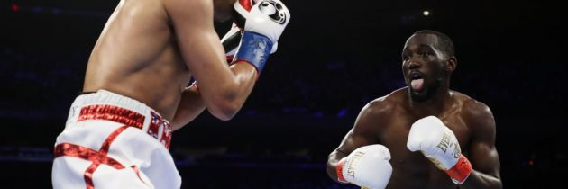 Crawford to Khan: 'You didn't quit?'