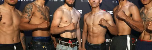 ShoBox tripleheader set as fighters make weight