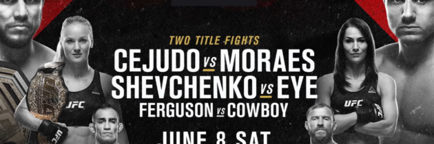 UFC 238 Includes Two Title Fights And 'The People's Main Event'