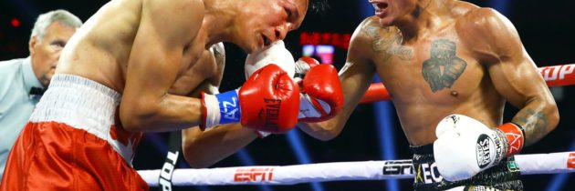 Berchelt dominates, stops Vargas in 6
