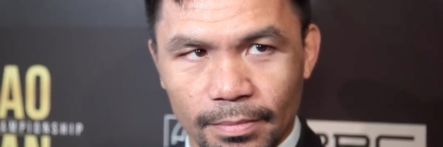 Pacquiao: 'I've been in this sport more than two decades, no one can intimidate me'