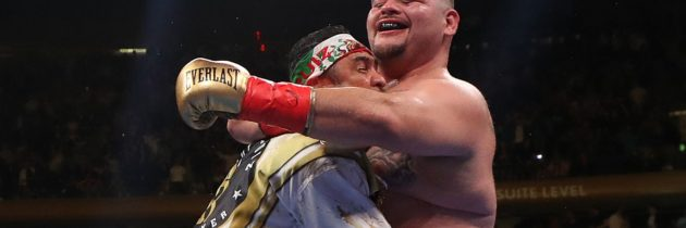 Andy Ruiz Jr's fairytale of New York