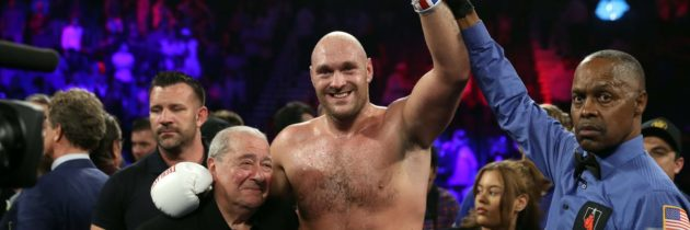 Fury obliterates overmatched Schwarz in two rounds