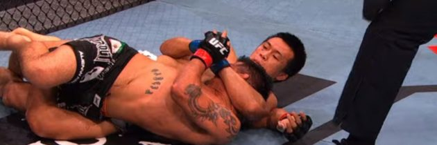 UFC Greenville Free Fight Video! Korean Zombie Scores Epic Twister Submission