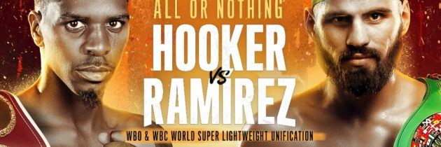 Hooker-Ramirez unification official for July 27