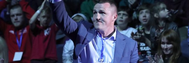 Denis Lebedev announces retirement