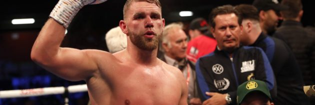 Saunders goes to Kazakhstan, calls out Golovkin