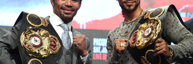 LIVE! 'Pacquiao Vs. Thurman' Results & Play-By-Play