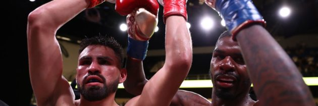 Hooker: Ramirez had me hurt, ref was right to stop fight