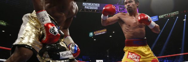 Mayweather and Pacquiao trade shots on social media