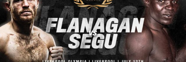 Flanagan to face Segu on July 12th
