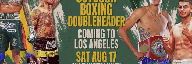 Benavidez-Collazo, Navarrete-De Vaca official for August 17th on ESPN