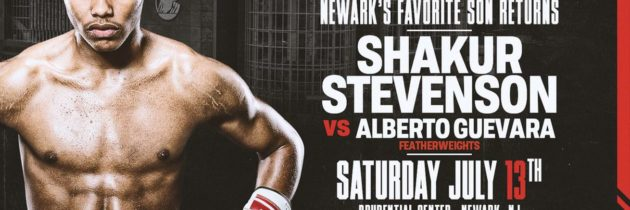 Stevenson gets another July 13th opponent in Guevara