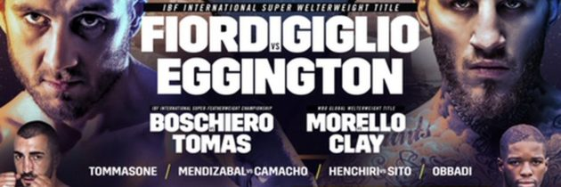 Fiordigiglio-Eggington set for Sept. 19