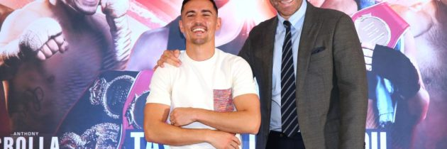 Crolla: Manchester farewell will be 'a real fight'