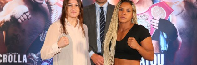 Taylor aiming for more world titles, but Linardatou up for challenge