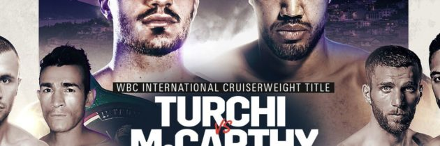 Turchi-McCarthy set for Oct. 11