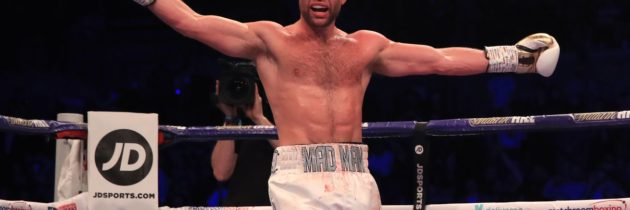 Fitzgerald carves his own path as rising star in British boxing