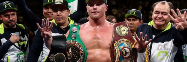 Rankings (Nov. 5, 2019): Canelo now ranked in three divisions