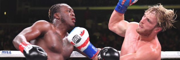 KSI wins controversial split decision over Logan Paul
