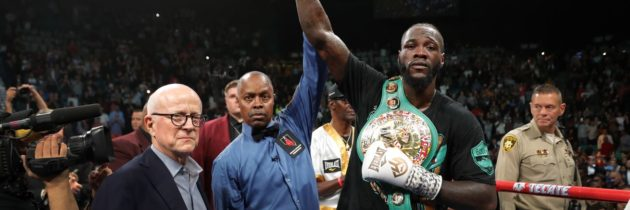 Scores: Judges all had Ortiz ahead at time of Wilder KO