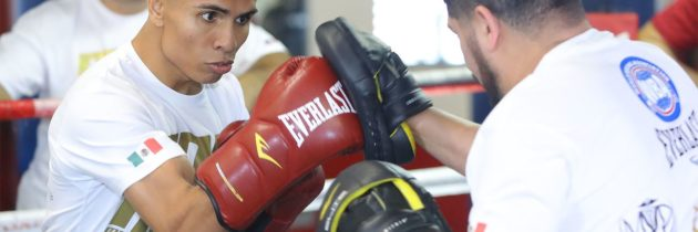 Robles III talks growing up in boxing as he prepares for first world title fight