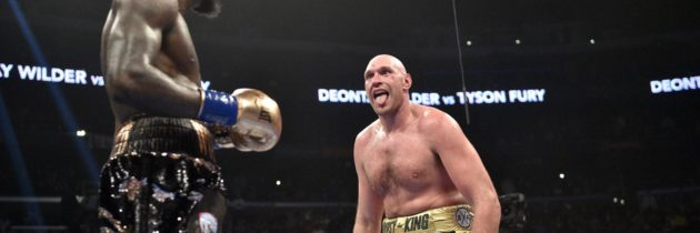 Fury 'can't wait' to take a right hand from Wilder again