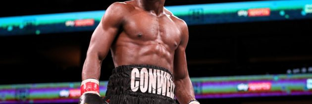 Conwell to fight on after fateful bout with Day