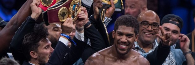 Joshua dances in Diriyah as Whyte's frustrations extend into the ring