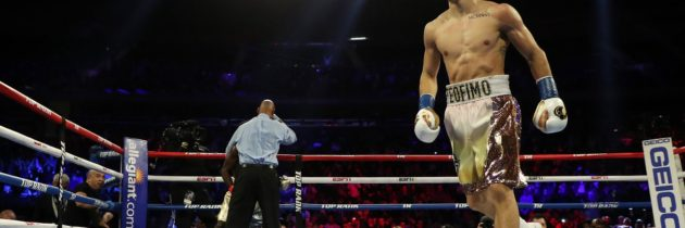 Highlights: Lopez stops Commey, meets with Lomachenko in ring
