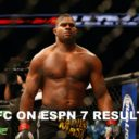Live! UFC On ESPN 7 Results & Play-By-Play!