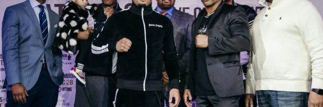 Davis-Gamboa: Live Streaming Weigh-In, 2 pm ET
