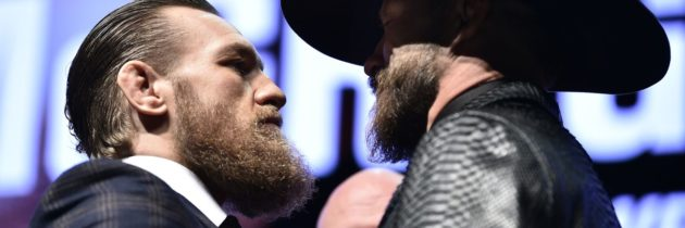Staredown! McGregor, Cerrone Face Off In Vegas!