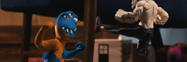 Mac Morphs Into Action Figure, Beats Down Monsters In Reebok Ad