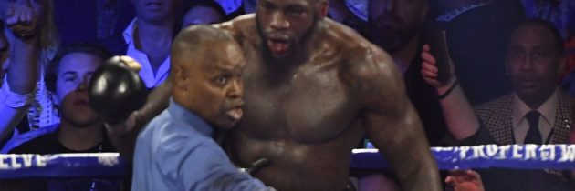 Wilder 'heartbroken' over Breland throwing in the towel
