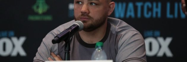 Kownacki wouldn't mind early night against Helenius