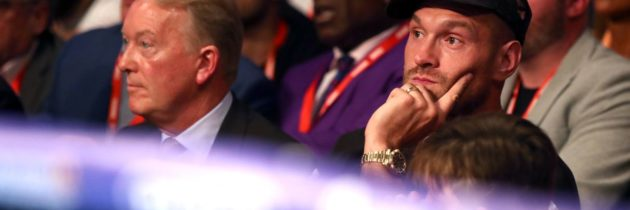 Fury promoters send message to Hearn and other rivals